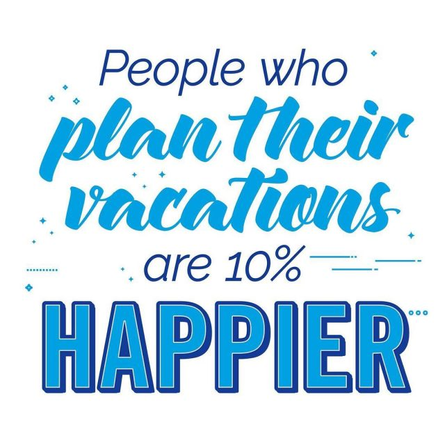 People who plan their vacations are 10 happier with theirhellip